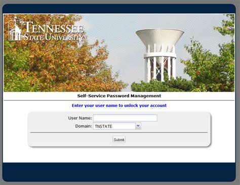 tennessee state university help desk about tsu st