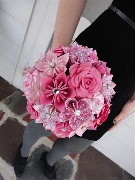 origami centerpieces wedding pink paper kusudama origami paper flower wedding