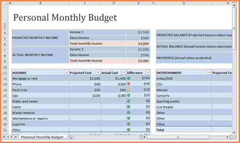 monthly expenses template 8 monthly expenses spreadsheet template excel