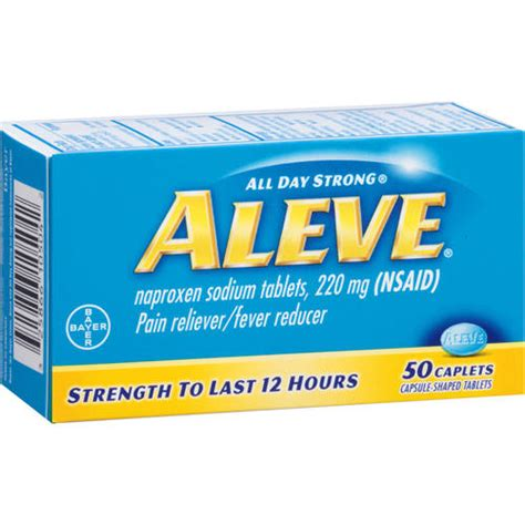 How To Detox From Aleve by How Does Aleve Compared To Meloxicam