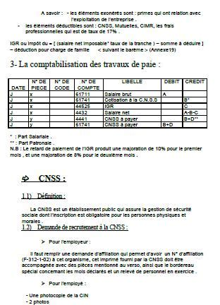 Rapport De Stage Cabinet Comptable by Rapport De Stage Cabinet Fiduciaire Traitement Comptable D