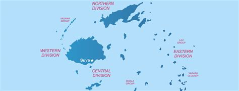 fiji islands map the islands of fiji the best places to stay in fiji
