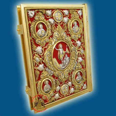 Amazing Greek Orthodox Church Supplies #4: 6504-00_Orthodox_Gospel_Cover_Resurrection_B_Nioras.jpg