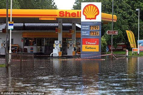nearest garage petrol uk weather severe flood warning issued as forecasters say