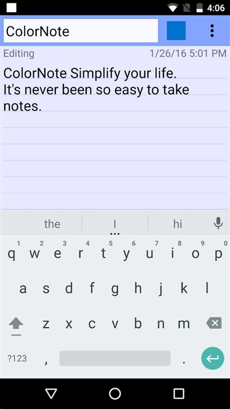 color note app colornote notepad notes android apps on play