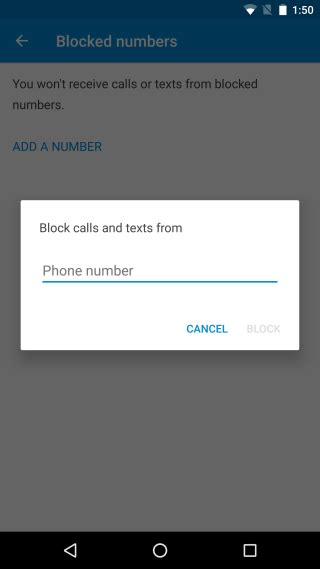 blocking a number on android how to block all calls and messages from a number in android 7 0 guruslodge forum