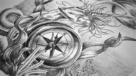 full sleeve tattoo design speed drawing youtube