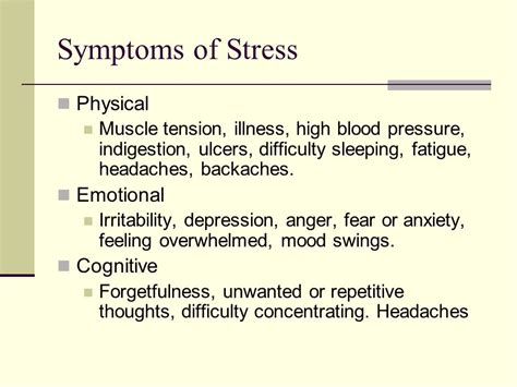 mood swings depression anxiety anger stress is an unavoidable consequence of life ppt download