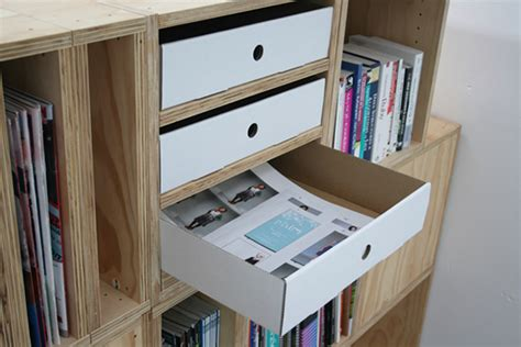 Cardboard Desk Drawers by Cardboard Drawer On Behance