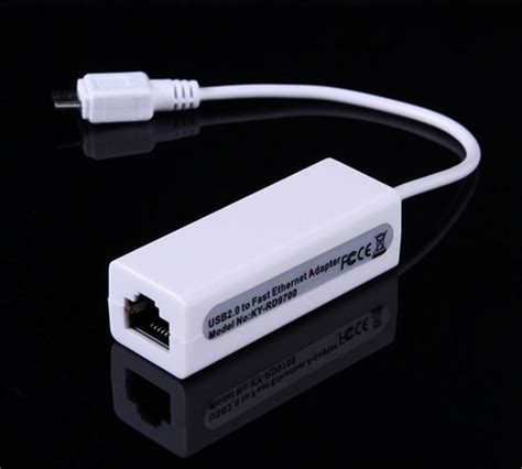 Kabel Lan Ke Usb Kabel Micro Usb To Rj45 Ethernet Lan Adapter Untuk Windows Macbook Kecepatan Optimal