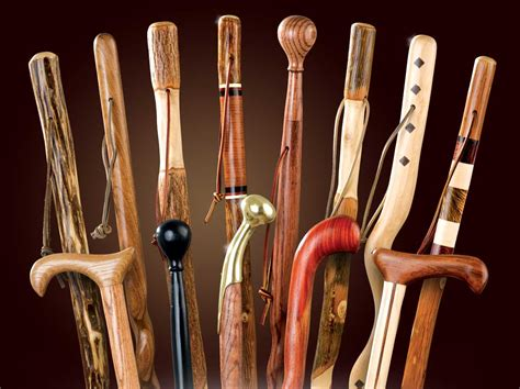 Handcrafted Walking Sticks - walking stick j n feed and seed
