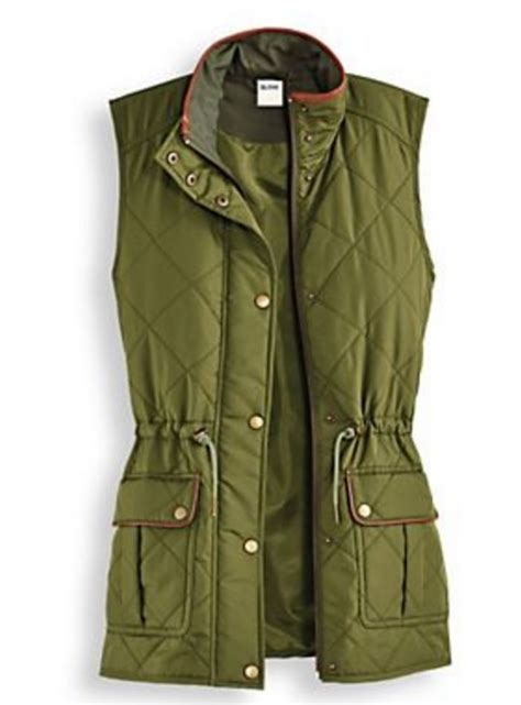 Stylish Sweatpants Magnificents scandia woods olive green quilted vest misses medium m magnificent shopping