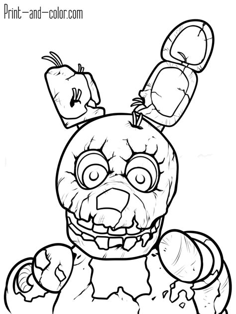 five nights at freddy s coloring book for and adults activity book books five nights at freddy s coloring pages print and color