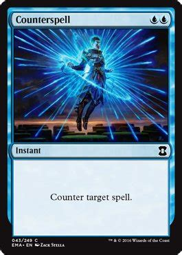 Spell Counter Deck by Counterspell From Eternal Masters Spoiler