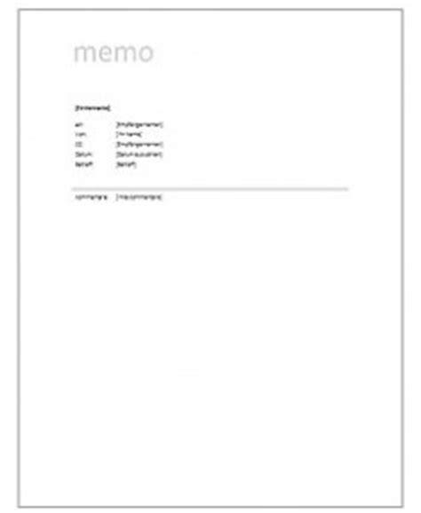 Memo Schreiben Muster Vorlagen Kostenlos De Vertr 228 Ge Unterlagen Und Vordrucke