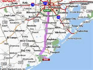 san bernard river map packtx gt more gt helpful stuff gt maps and directions gt san