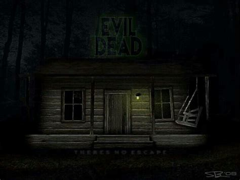 Evil Dead Cabin by The Cabin From Evil Dead Dead By