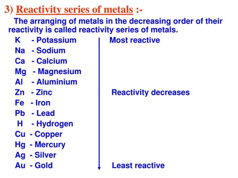 the metallurgy of the common metals gold silver iron copper lead and zinc classic reprint books ppt chapter 3 metals and non metals powerpoint