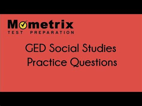 ged preparation 2018 2019 ged study guide and strategies with practice test questions for the ged test free ged social studies 2018 practice test questions