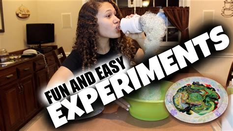 diy easy experiments to do at home