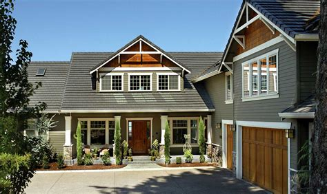 classic craftsman home plan 69065am architectural