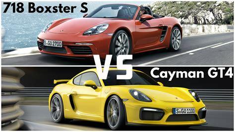 Porsche Cayman Vs Boxster by Cayman Vs Boxster Autos Post