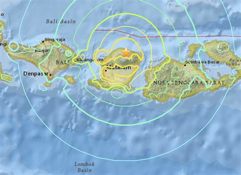 indonesia earthquakes   safe  travel