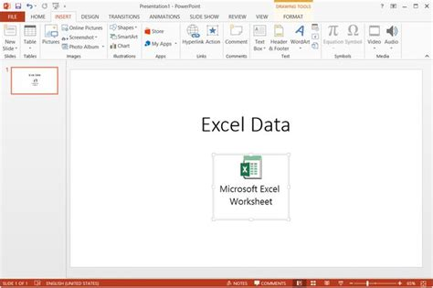 file format to embed video in powerpoint how to embed an excel workbook icon into powerpoint