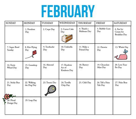 fun national holiday calendar may the kirkwood call the kirkwood call fun national holiday calendar february