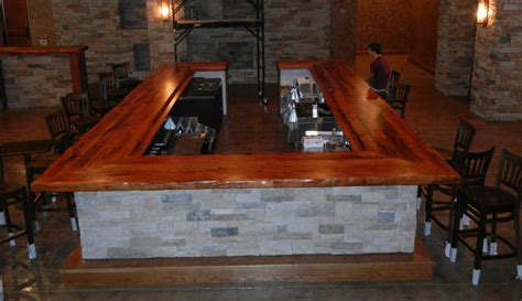 mesquite wood countertops bar tops in faifer
