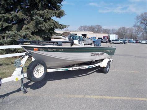 used boat motors shakopee mn used 2002 crestliner 1600 angler sc shakopee mn 55379