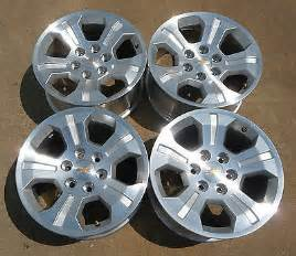 Chevy Truck Mag Wheels For Sale New 2014 Chevy Silverado 18 Quot Alloy Wheels Parts For Sale