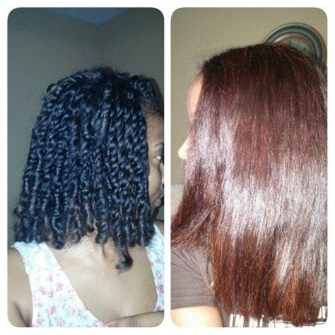 henna before and after my hair before henna on the left my hair after henna on