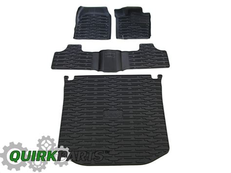 Jeep Grand Mats 13 15 Jeep Grand Rubber Slush Mats Cargo Tray