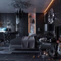 all black modern bedroom design devparade