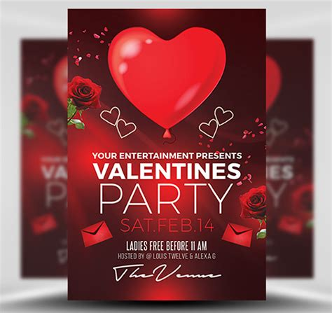 Valentines Day Flyer Template s day flyer template flyerheroes