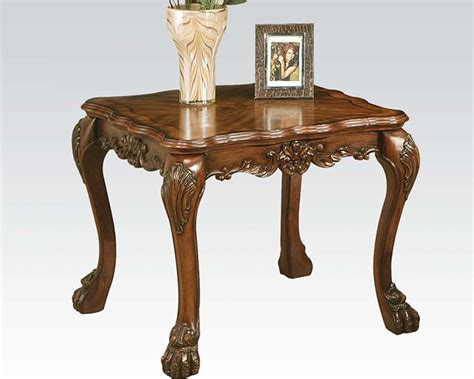 end table in traditional style dresden by acme ac12166