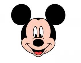 mickey mouse head template cliparts