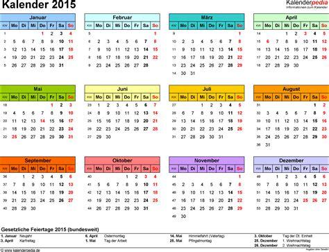 Word Vorlage Jahreskalender Kalender 2015 Word Zum Ausdrucken 16 Vorlagen Kostenlos