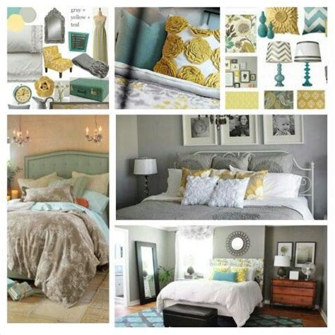 teal gray and yellow bedroom pin by abby lynette on aqua gray yellow