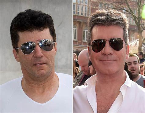 10 most look alike celebrities simon cowell lookalike the best and worst celebrity