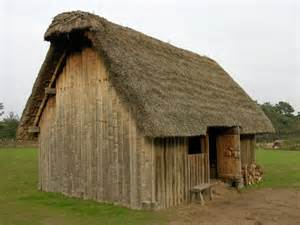 mittelalter haus thatched house most homes were cold