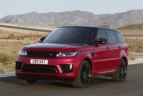 range rover sport 2018 changes range rover sport adds in hybrid for 2019 top news