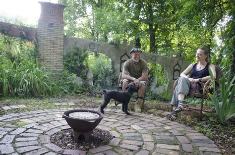 Leaving fairyland: Wamboldtopia?s creators say goodbye to their garden home   Mountain Xpress