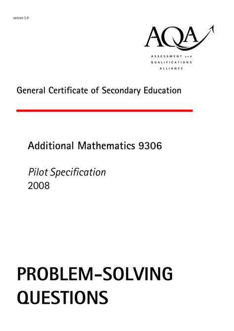 problem solving questions great maths teaching ideas
