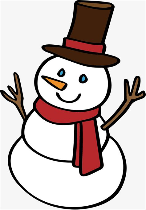 lovely snowman vector png snowman cute snowman png and