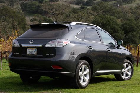First Drive 2010 Lexus Rx350 And Rx450h Autoblog