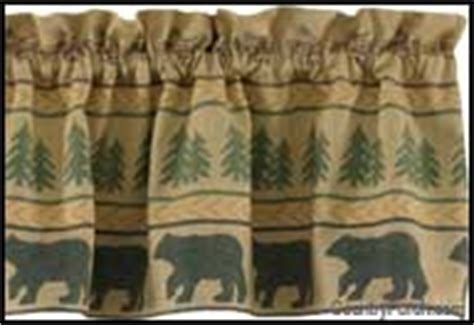 Log Cabin Style Curtains by Lodge Log Cabin Style Decorating