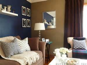 Blue Accent Wall by Navy Blue Accent Wall Archives B H