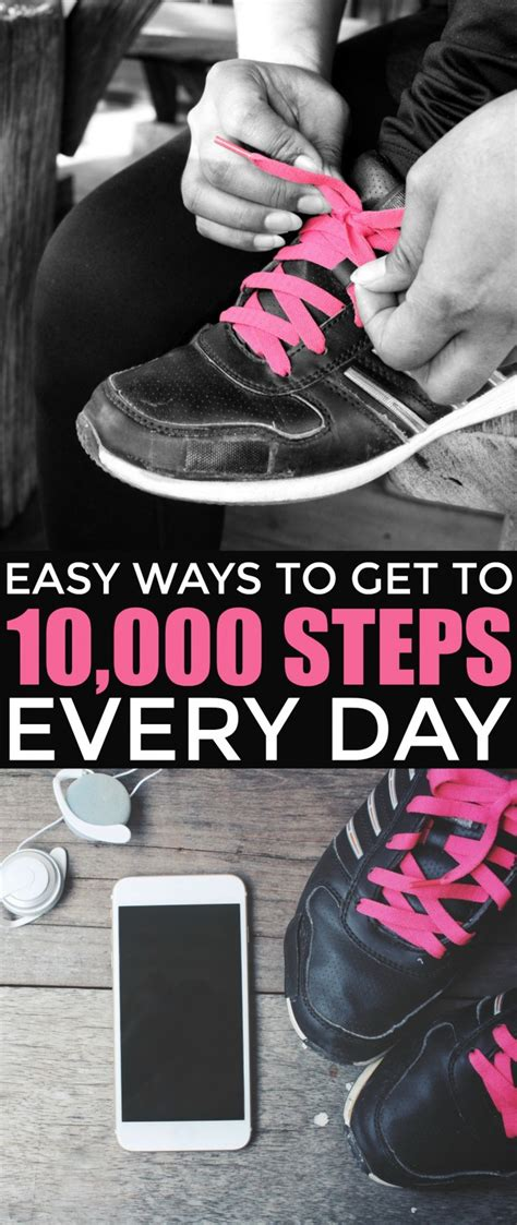 ten thousand steps challenge easy ways to get to 10 000 steps every day frugal eh